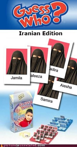 best of week burka game guess who iran middle east wtf - 6078173184