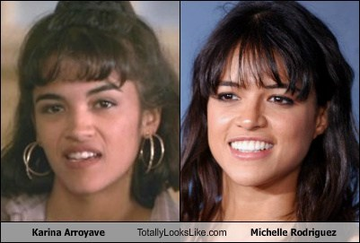 Karina Arroyave Totally Looks Like Michelle Rodriguez