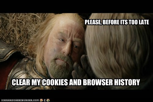 before bernard hill cookies delete dying internet history Lord of the Rings Theoden too late