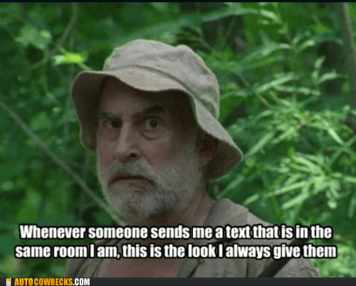 dale,in the same room,The Walking Dead