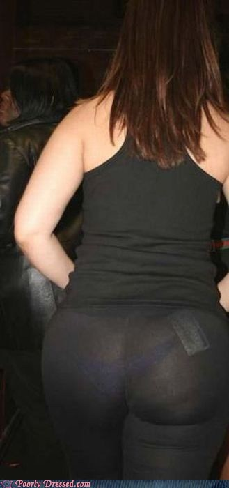 pants,see through,underwear,wedgie,yoga pants