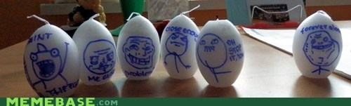 easter eggs IRL Rage Comics - 6078468096