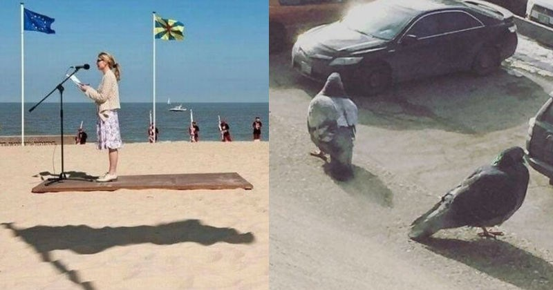 weird perspectives optical illusions