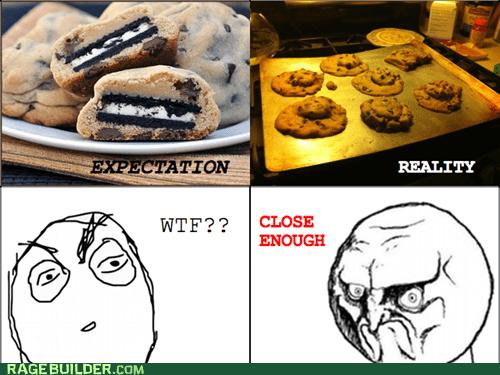 baking Close Enough cookies no Rage Comics - 6078565632