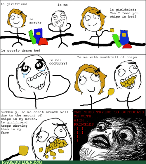 chips,Rage Comics,raisin face,relationships