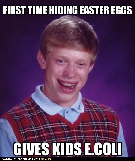 bad luck brian easter eggs Memes sins two dying jokes in one day - 6078636800