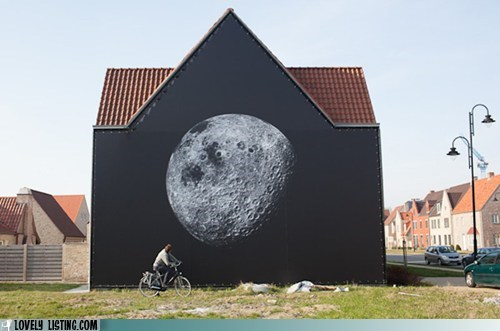belgium installation moon photograph print - 6078747648