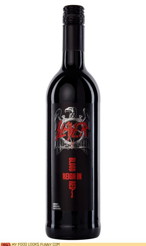 best of the week,Blood,reign in blood,slayer,wine