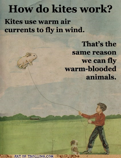 animals Fake Science kite