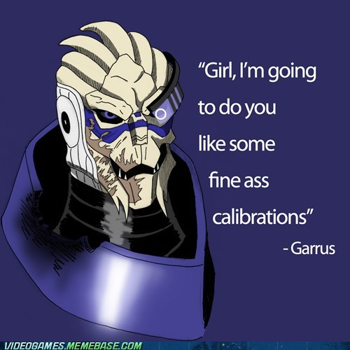 calibration,Garrus,mass effect,pick up link,renegade