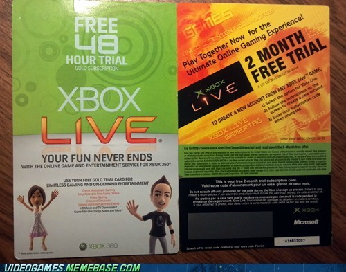 microsoft past Sad trials xbox xbox live - 6078865920