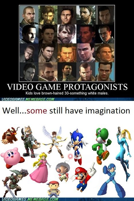 fantasy,nintendo,not real life,protagonists