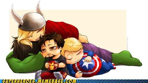 avengers Awesome Art captain america hulk iron man Thor - 6078893056