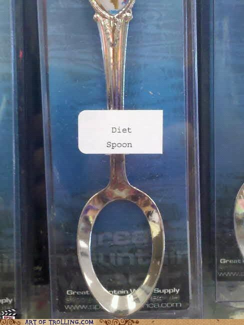 diet hole IRL spoon - 6078913792