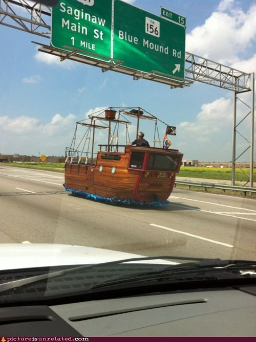 car,sailboat,wtf
