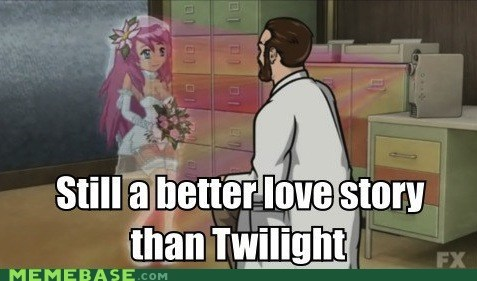 archer love story Memes twilight - 6079057664