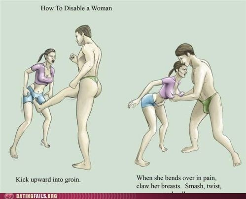 grab chest how to disable a woman kick upward - 6079172096