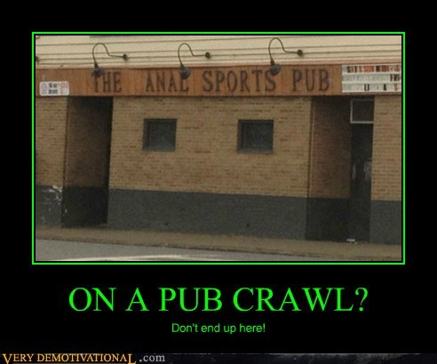 bad idea hilarious pub crawl wtf - 6079209216