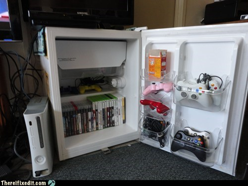 fridge mini fridge refrigerator xbox 360 - 6079371520