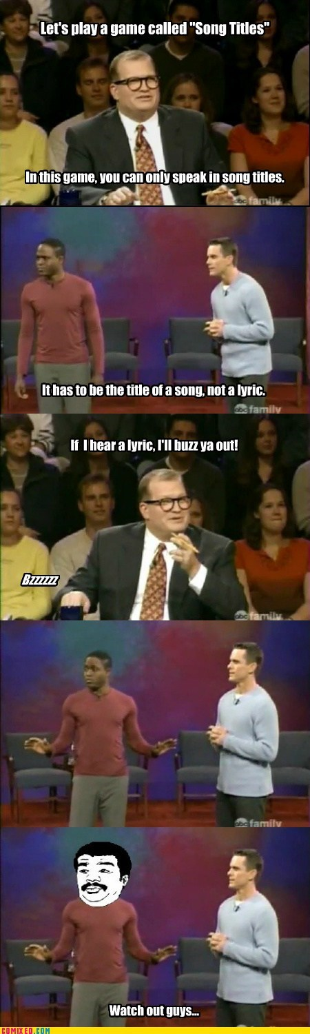 drew carey,TV,Wayne Brady,we got a badass over here,whose line is it anyway