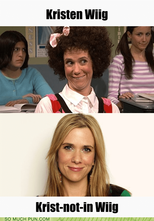 after before kristen wiig literalism not similar sounding spelling surname wig wiig - 6080265472