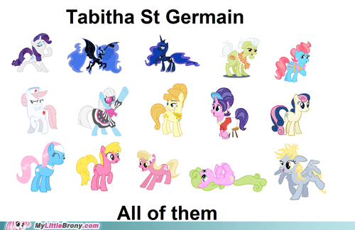 all the things,tabitha st germain,TV,voice acting