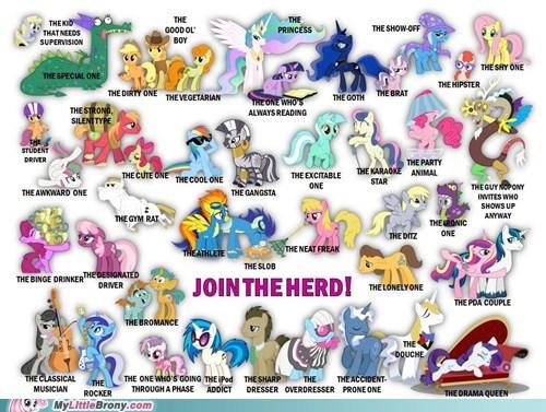 Bronies facebook join the herd ponies - 6081648896