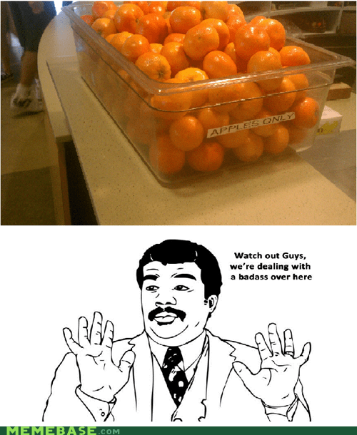 apples,Badass,container,oranges