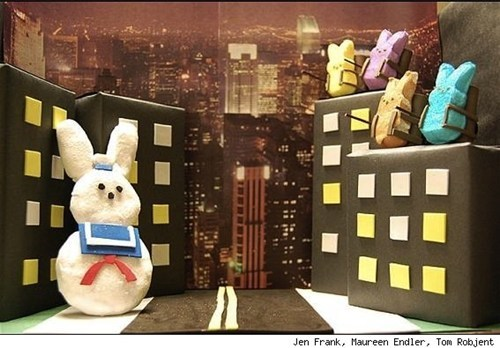 easter,Ghostbusters,movies,peeps,Photo