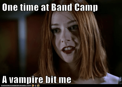 alyson hannigan american pie band camp bite Buffy the Vampire Slayer vampire willow - 6083020032