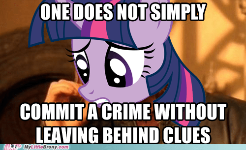 clues meme mmmystery one does not simply pinkie pie twilight sparkle - 6083345664