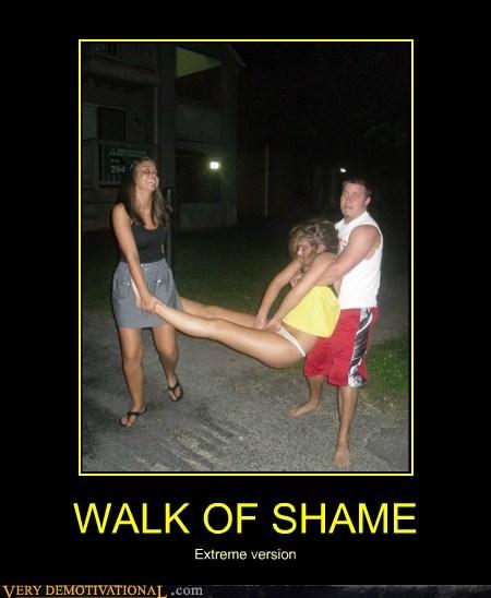 drunk extreme hilarious walk of shame wtf - 6083491584