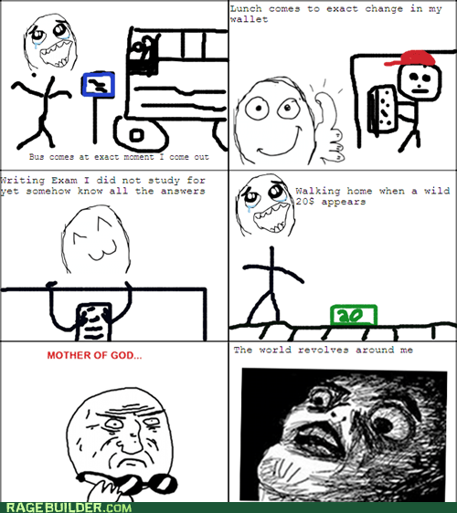luck,mother of god,Rage Comics,raisin face