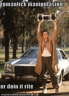 john cusack Lloyd Dobbler romance Say Anything - 608382208