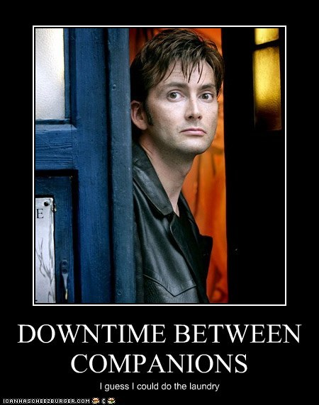 bored,companions,David Tennant,doctor who,down time,laundry,the doctor