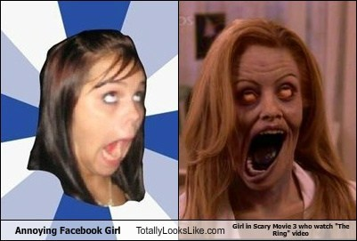 facebook girl,funny,meme,Movie,Pam Anderson,scary movie 3,TLL