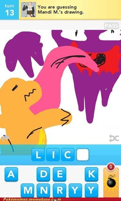 art charmander draw something drawsome haunter - 6084577024
