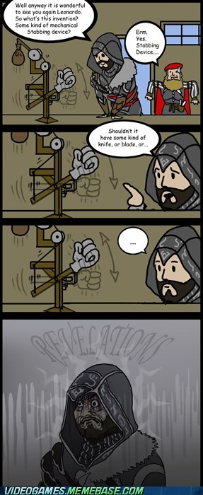 assassins creed,comic,da vinci,ezio,fap,new device,Ringo