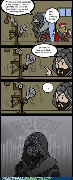 assassins creed comic da vinci ezio fap new device Ringo - 6084833024