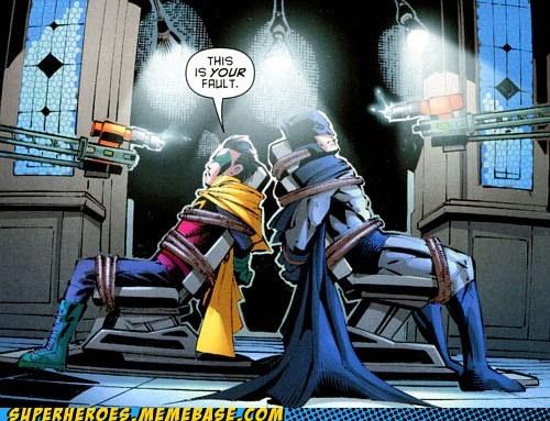 batman damian robin Straight off the Page - 6085216768
