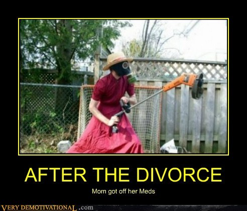 divorce hilarious meds mom wtf - 6085657600