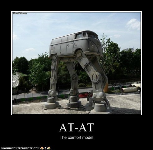 at-at walker,bus,cars,comfort,star wars,volkswagen