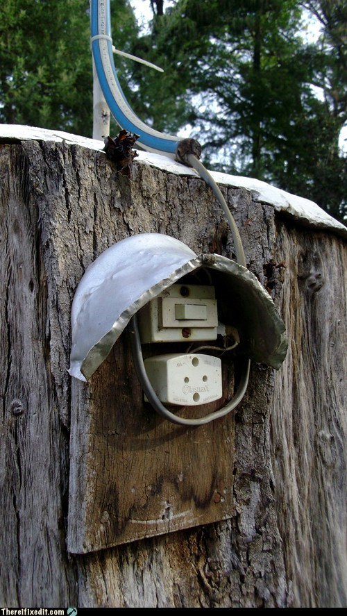 cable electricity outlet plug socket tree wood - 6086985472