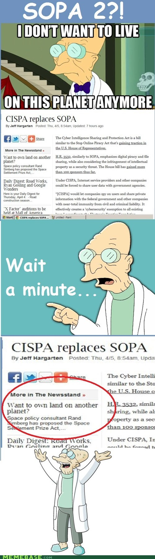 Aliens cispa i dont want to live on this planet anymore SOPA - 6087398144