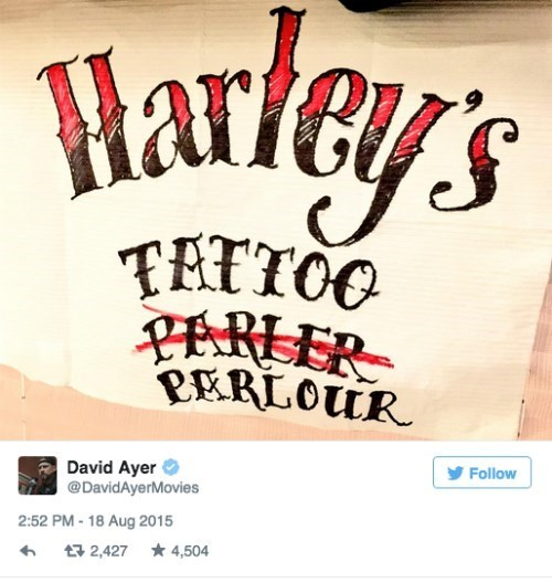 tattoo,Harley Quinn,suicide squad