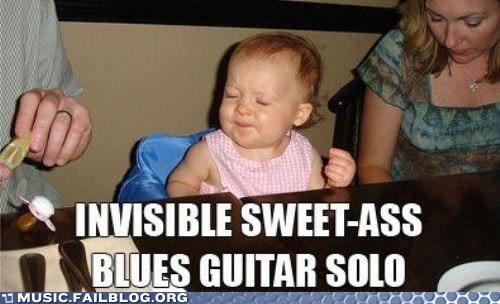baby,blues,child,guitar,guitar solo,invisible guitar,parenting,solo