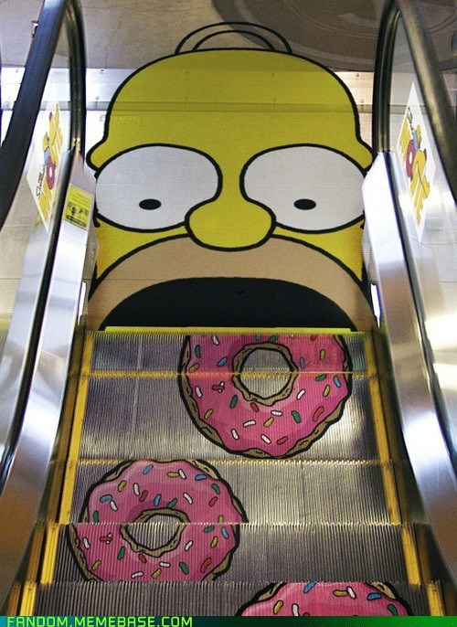 escalator homer It Came From the Interwebz the spimsons - 6087983360