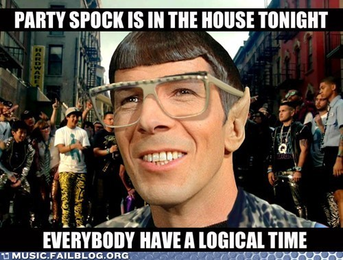 g rated lmfao Music FAILS Party Rock Anthem Spock Star Trek - 6088074496