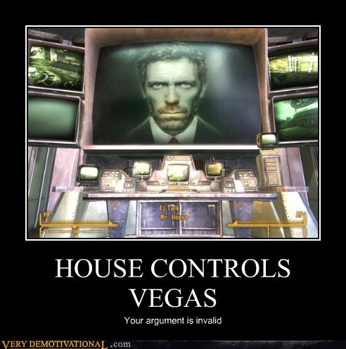 fallout hilarious house Invalid Argument new vegas