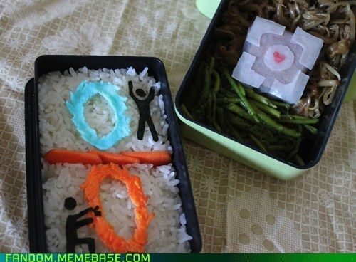bento,Fan Art,noms,Portal,video games